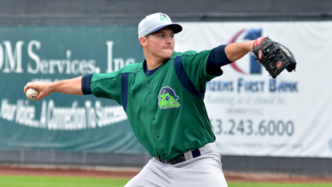 Matt Summers is second in the Midwest League with 90 1/3 innings.