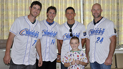 Storm Chasers players, staff and mascots donated more than 1,150 hours to local groups.
